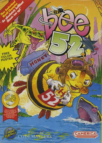 Bee 52 - Nintendo NES [USED]