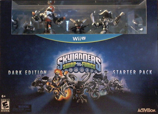 Skylanders Swap Force (Dark Edition Starter Pack) - Nintendo Wii U [NEW]