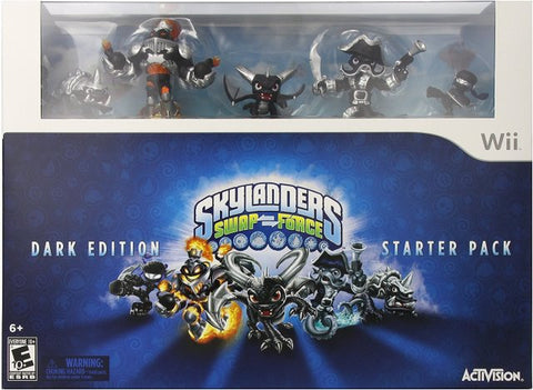 Skylanders Swap Force (Dark Edition Starter Pack) - Nintendo Wii [NEW]