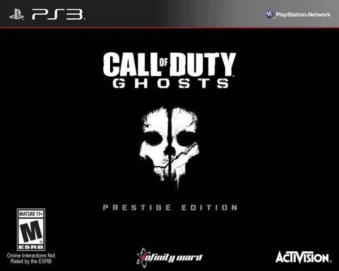 Call of Duty: Ghosts (Prestige Edition) - PlayStation 3
