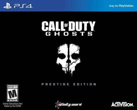 Call of Duty: Ghosts (Prestige Edition) - PlayStation 4