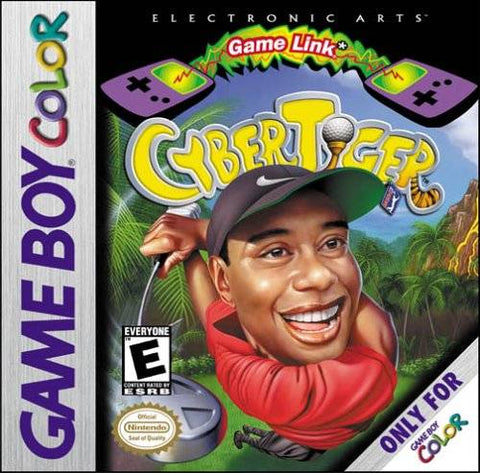 CyberTiger - Game Boy Color (Sports, 2000, US )