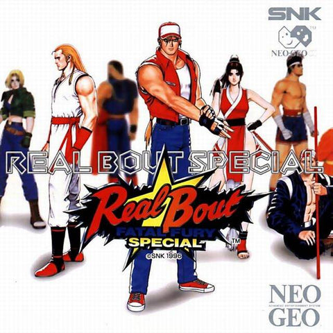 Real Bout Fatal Fury Special - NeoGeo CD [CIB]