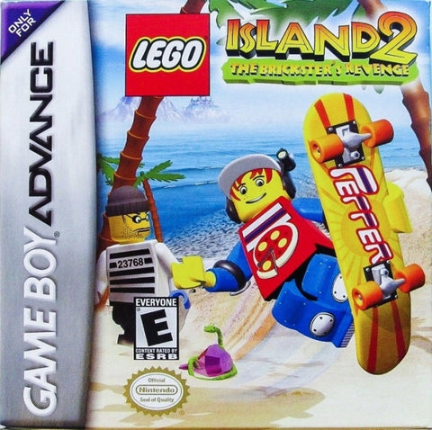 LEGO Island 2: The Brickster's Revenge - Game Boy Advance [USED]
