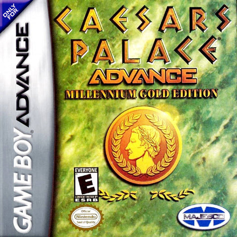 Caesars Palace Advance: Millenium Gold Edition - Game Boy Advance [USED]