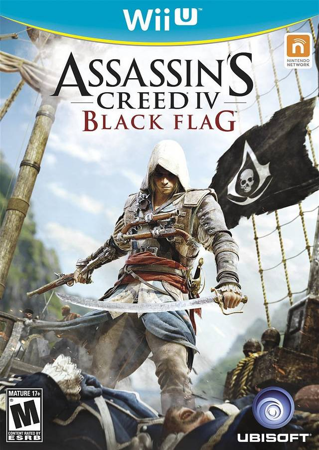 Assassin's Creed IV: Black Flag - Nintendo Wii U [USED]