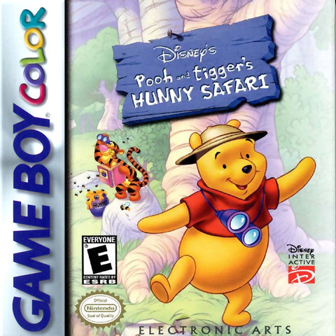 Disney's Pooh and Tigger's Hunny Safari - Game Boy Color [USED]
