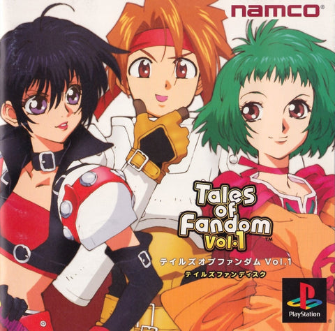 Tales of Fandom Vol. 1 (Cless Version) - PlayStation (Japan)