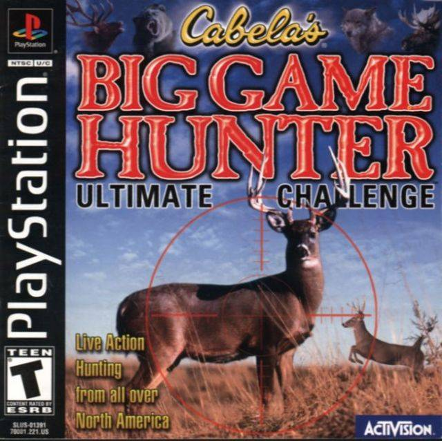 Cabela's Big Game Hunter: Ultimate Challenge - PlayStation