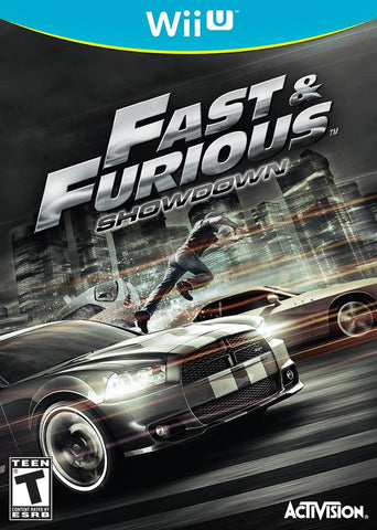 Fast & Furious: Showdown - Nintendo Wii U [USED]