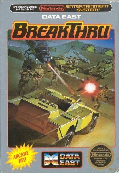 BreakThru - Nintendo NES [USED]