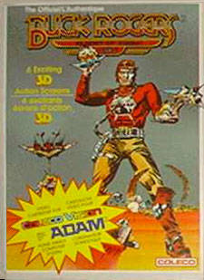 Buck Rogers: Planet of Zoom - Colecovision