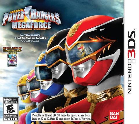 Power Rangers Megaforce - Nintendo 3DS [NEW]