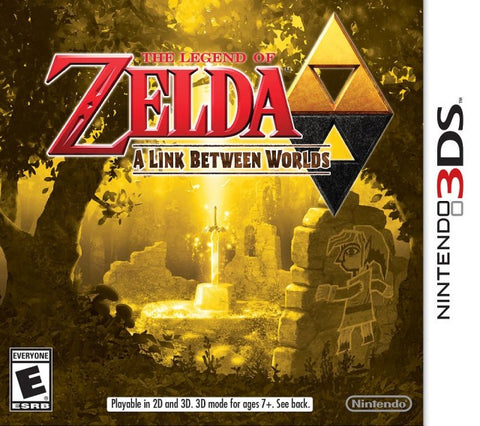 The Legend of Zelda: A Link Between Worlds - Nintendo 3DS [USED]