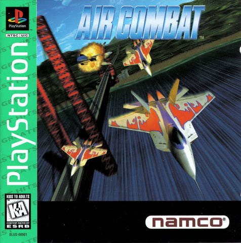 Air Combat ( Greatest Hits ) - PlayStation