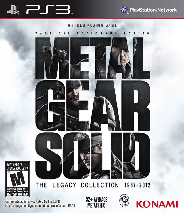 Metal Gear Solid: The Legacy Collection - PlayStation 3