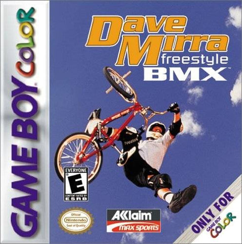 Dave Mirra Freestyle BMX - Game Boy Color [USED]
