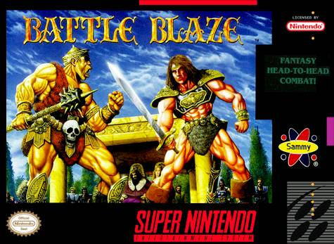 Battle Blaze - Super Nintendo [USED]