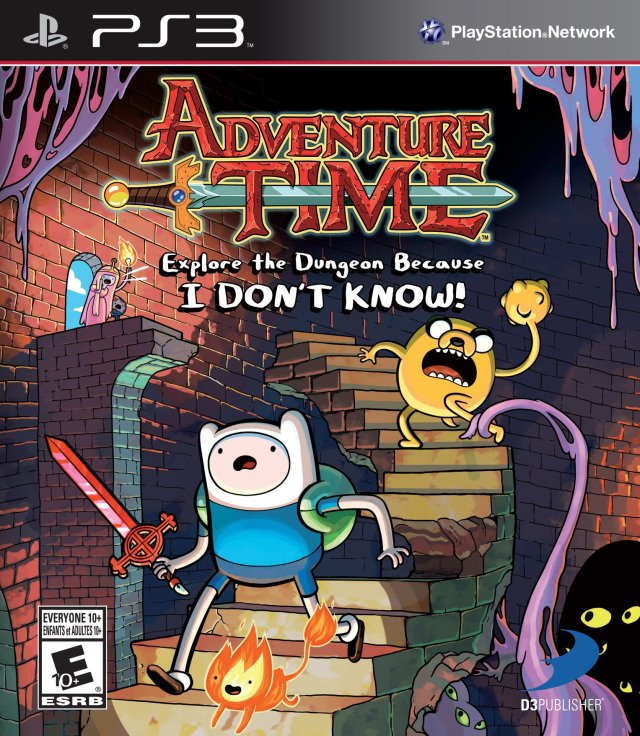Adventure Time: Explore the Dungeon Because I DON'T KNOW! - PlayStation 3