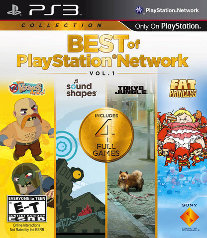 Best of PlayStation Network Vol. 1 - PlayStation 3