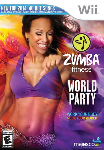 Zumba Fitness World Party - Nintendo Wii [NEW]