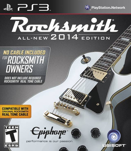 Rocksmith 2014 Edition (No Cable Included) - PlayStation 3
