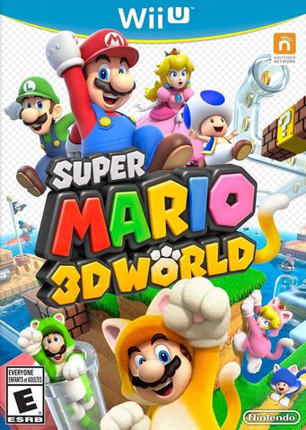Super Mario 3D World - Nintendo Wii U [USED]