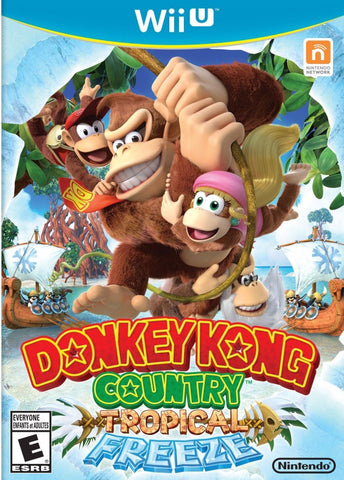 Donkey Kong Country: Tropical Freeze - Nintendo Wii U [NEW]