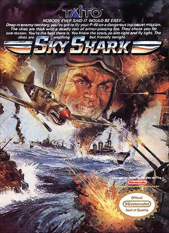 Sky Shark - Nintendo NES [USED]