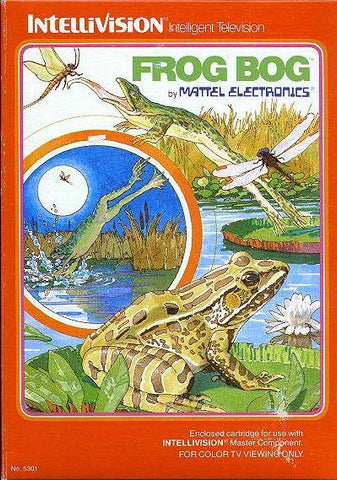 Frog Bog - Intellivision [USED]