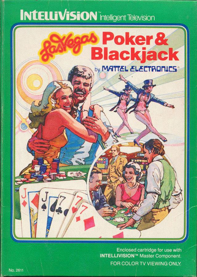 Las Vegas Poker & Blackjack - Intellivision [USED]