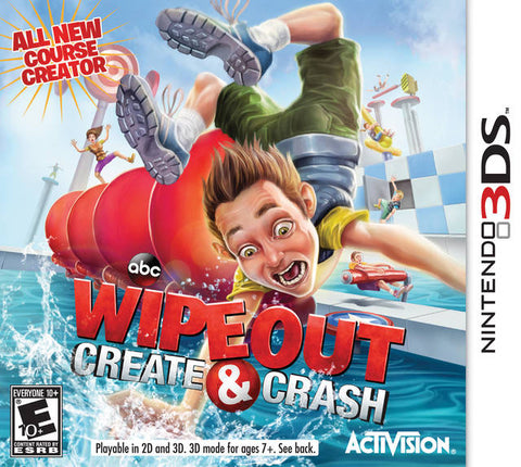 Wipeout: Create & Crash - Nintendo 3DS [NEW]
