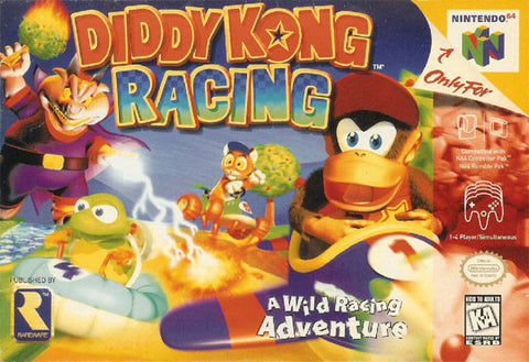 Diddy Kong Racing - Nintendo 64 [USED]