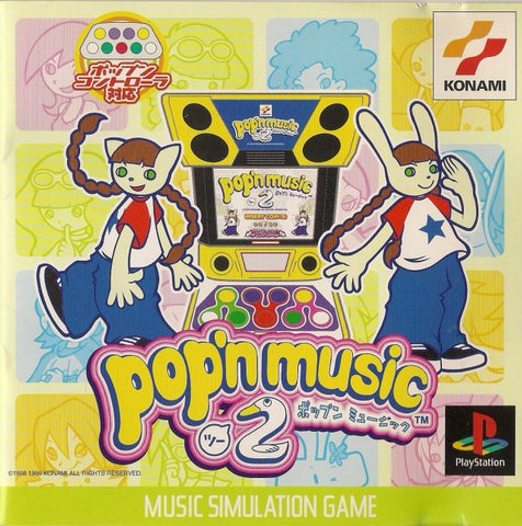 Pop'n Music 2 - PlayStation (Japan)