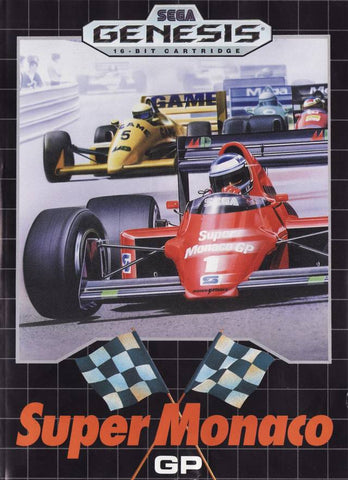 Super Monaco GP - SEGA Genesis [USED]