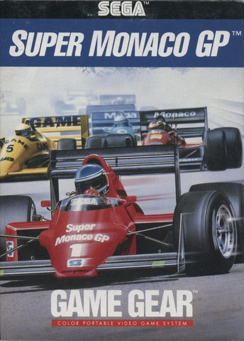 Super Monaco GP - SEGA GameGear [USED]