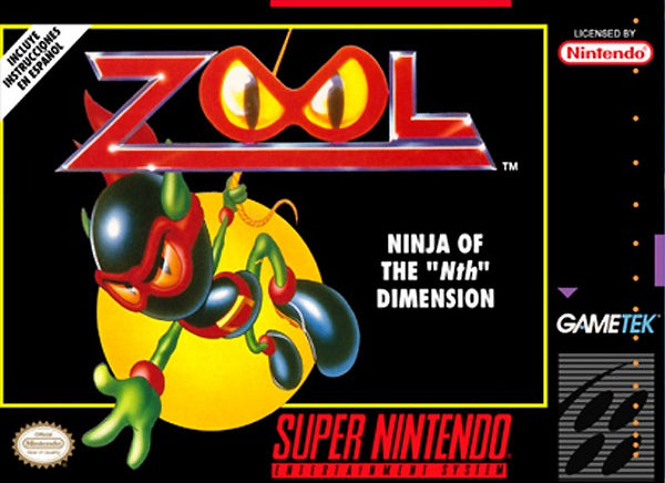 "Zool: Ninja of the ""Nth"" Dimension - Super Nintendo [USED]"