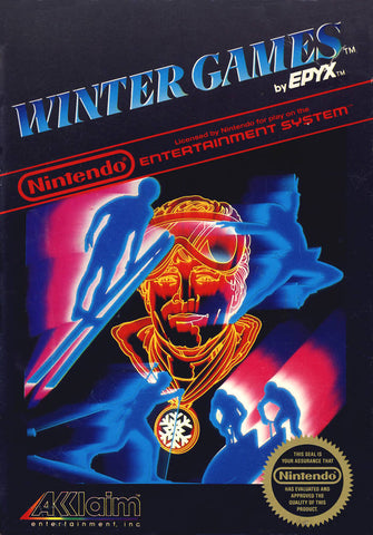Winter Games - Nintendo NES [USED]