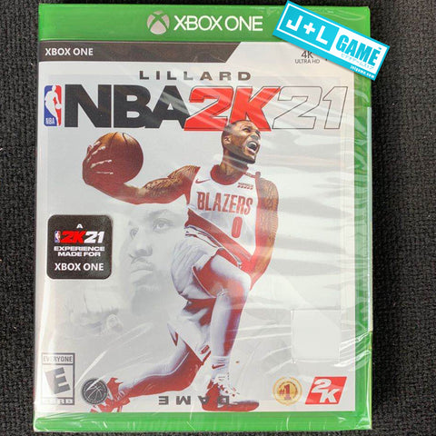 NBA 2K21 XBox One Box Cover