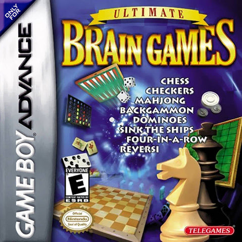 Ultimate Brain Games - Game Boy Advance [USED]