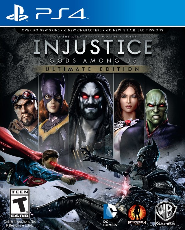 Injustice: Gods Among Us - Ultimate Edition - PlayStation 4