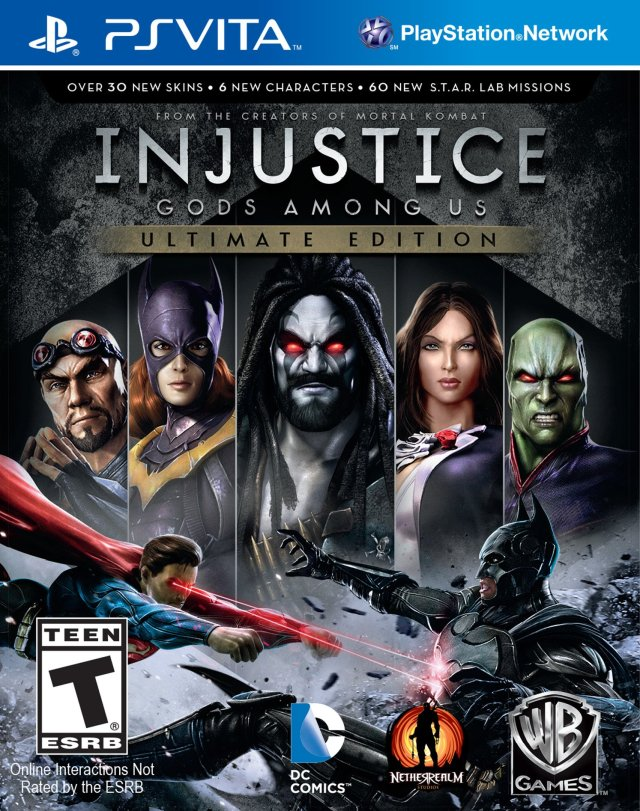 Injustice: Gods Among Us - Ultimate Edition - PS Vita