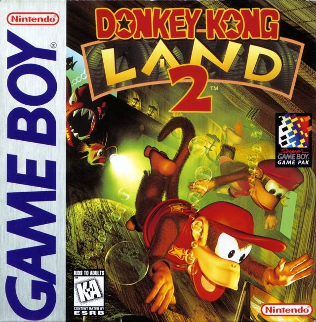 Donkey Kong Land 2 - Game Boy (Platformer, 1996, US )