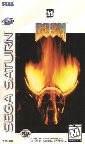 DOOM - SEGA Saturn [USED]