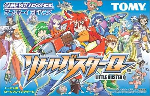 Little Buster Q - Game Boy Advance (RPG, 2002, JP )