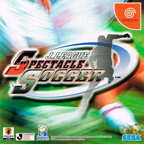 J.League Spectacle Soccer - SEGA Dreamcast (SPT, 2002) [USED]