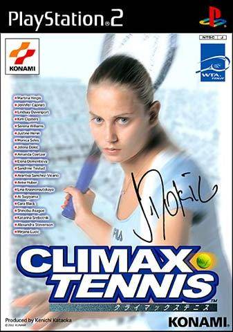 Climax Tennis: WTA Tour Edition - PlayStation 2 (Japan)