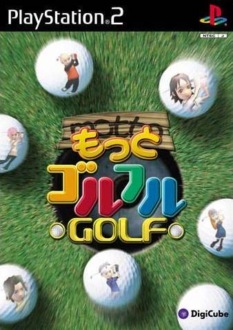 Motto Golful Golf - PlayStation 2 (Japan)