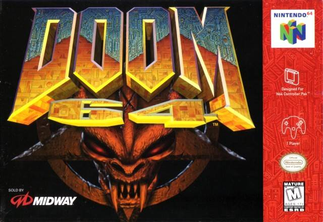 DOOM 64 - Nintendo 64 [USED]