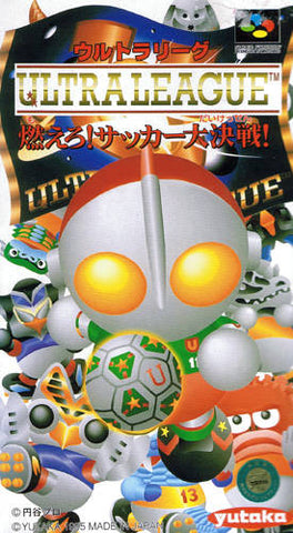 Ultra League: Moero! Soccer Daikessen!! - Super Famicom (Japan) [USED]